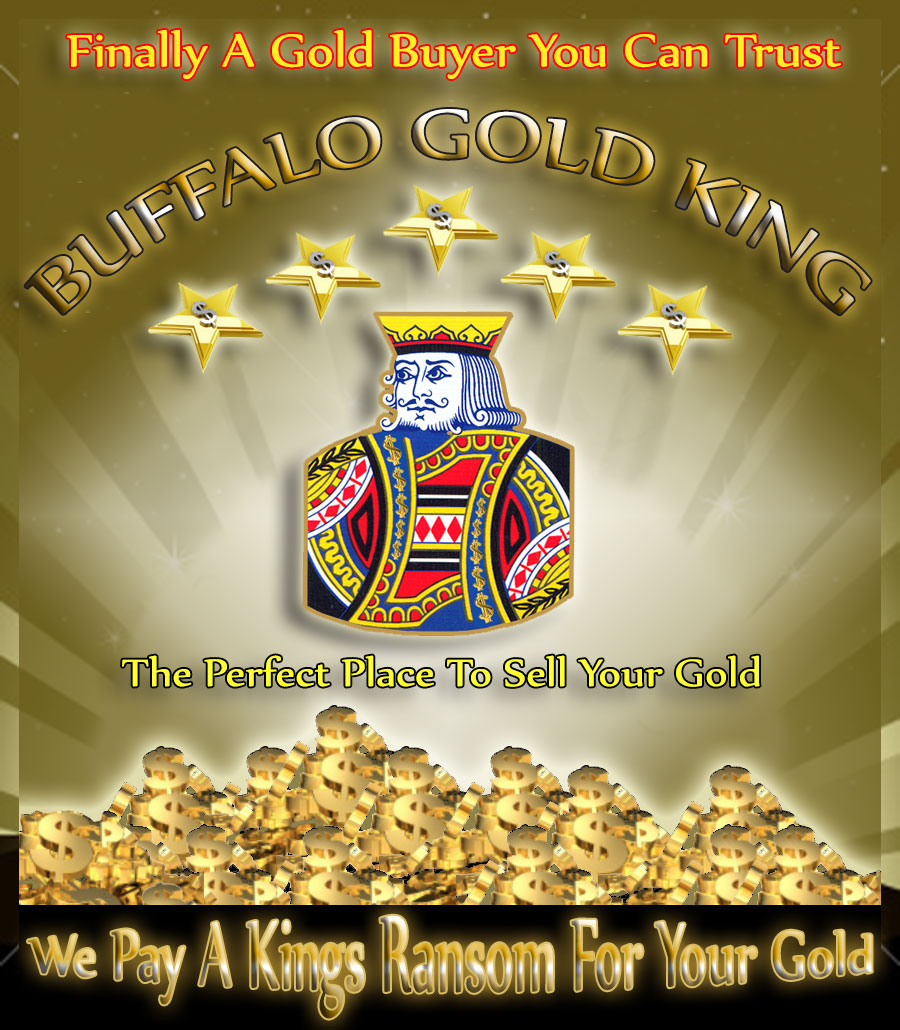 Buffalo Gold King Cash for Gold